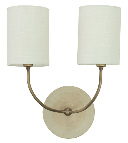 House of Troy GS775-2-ABOT Scatchard 2 Light 13 inch Oatmeal Wall Lamp Wall Light photo