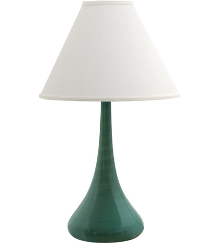 House of Troy GS801-SG Scatchard 26 inch 150 watt Sage Table Lamp Portable Light photo