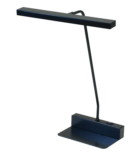 House of Troy Horizon 0 Light Desk Lamp in Black HLED100-7 photo