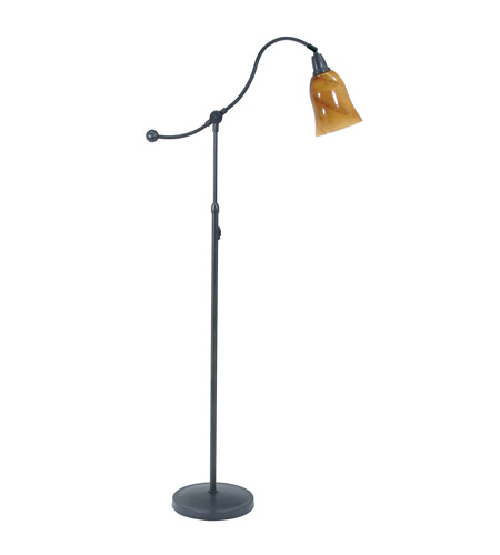 House of Troy Hyde Park 1 Light Floor Lamp in Oil Rubbed Bronze HP700-OB-AG photo