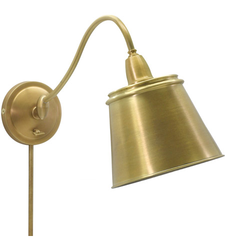 House of Troy HP725-WB-MSWB Hyde Park 14 inch 100 watt Weathered Brass Wall Swing Arm Wall Light photo