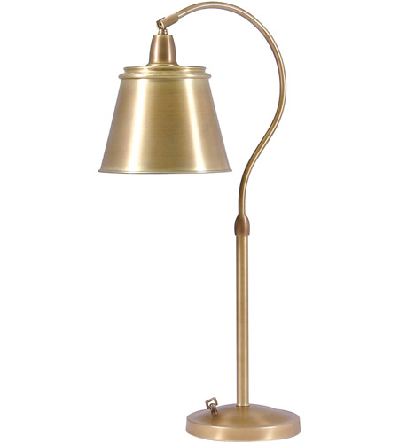 House of Troy HP750-WB-MSWB Hyde Park 26 inch 100 watt Weathered Brass Table Lamp Portable Light in 5 x 7.5 x 6.25 photo