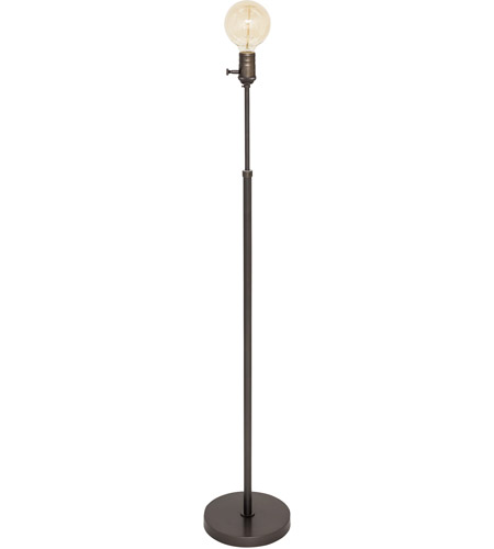 House of Troy IR701-OB Ira 58 inch 60 watt Oil Rubbed Bronze Adjustable Floor Lamp Portable Light photo