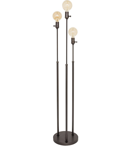 House of Troy IR703-OB Ira 42 inch 60 watt Oil Rubbed Bronze Adjustable Floor Lamp Portable Light photo