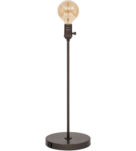 House of Troy IR751-OB Ira 21 inch 60 watt Oil Rubbed Bronze Adjustable Table Lamp Portable Light photo