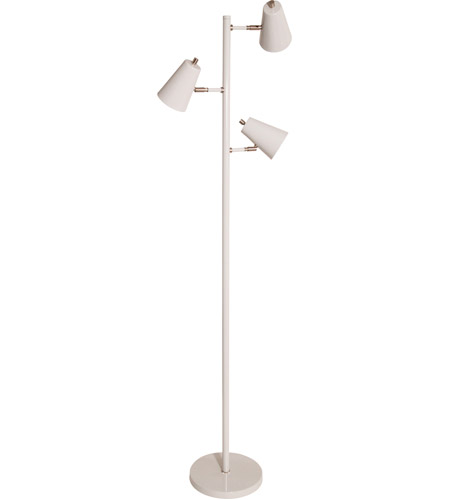 House Of Troy K130 Gr Kirby 64 Inch 6 2 Watt Gray Floor Lamp Portable Light