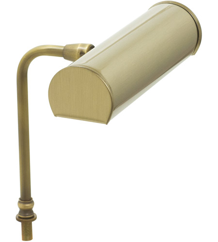 House of Troy LABLED7-71 Advent 7 inch 1 watt Antique Brass Lectern Lamp Portable Light, Battery Operated photo