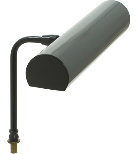 House of Troy LCLEDZ12-7 Signature 8 inch 4.5 watt Black Lectern Lamp Portable Light photo