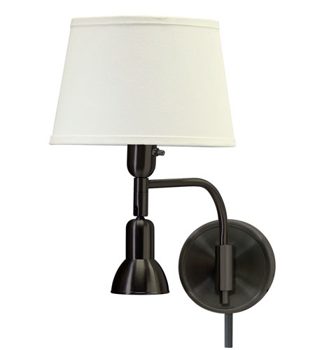 House of Troy Library 2 Light Swing-Arm Wall Lamp in Oil Rubbed Bronze LL623-OB photo