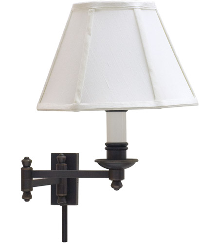 House of Troy LL660-OB Library 12 inch 60 watt Oil Rubbed Bronze Wall Swing Arm Wall Light photo