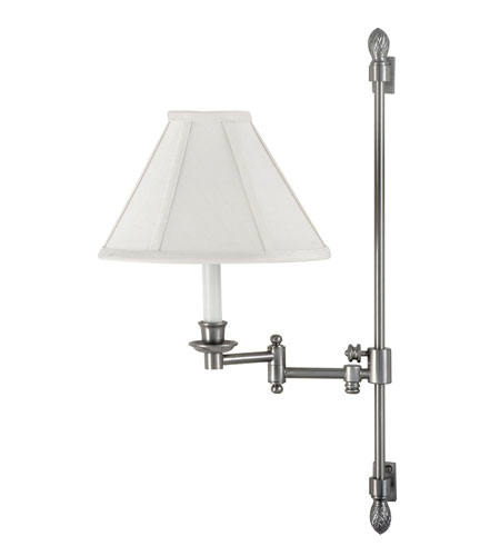 House of Troy Library Lamp Satin Nickel Swing Arm Lights/Wall Lamps LL662A-SN photo