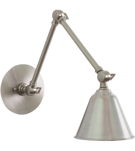 House of Troy LLED30-SN Library LED 5 inch Satin Nickel Wall Lamp Wall Light photo