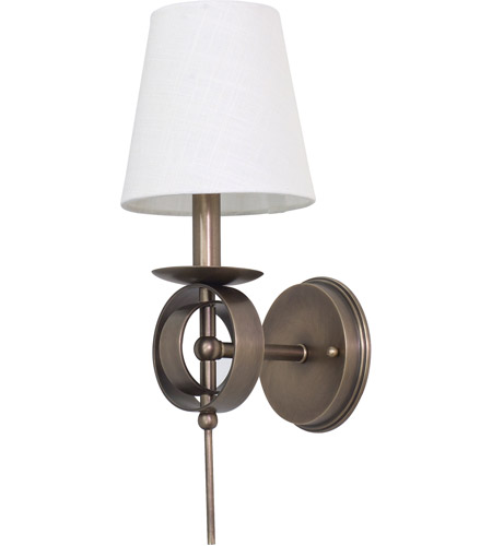 House of Troy LS202-AB Lake Shore 1 Light 6 inch Antique Brass Wall Lamp Wall Light photo