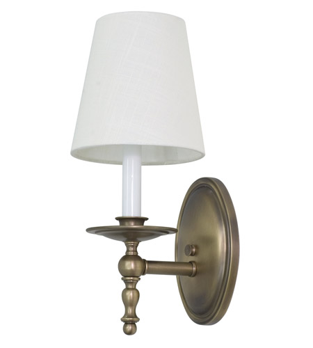 House of Troy Lake Shore 1 Light Wall Lamp in Antique Brass LS213-AB photo