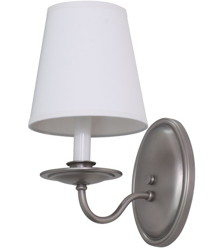 House of Troy LS217-SP Lake Shore 1 Light 5 inch Satin Pewter Wall Lamp Wall Light photo