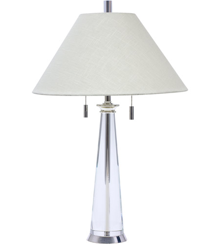 House of Troy M552-PS Marquis 27 inch 100 watt Polished Silver Table Lamp Portable Light photo