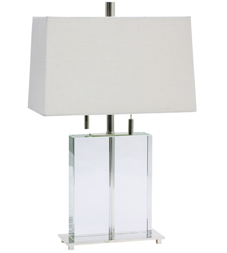 House of Troy Marquis 2 Light Table Lamp in Polished Silver M553-PS photo