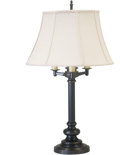House of Troy N650-OB Newport 30 inch 150 watt Oil Rubbed Bronze Table Lamp Portable Light photo