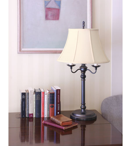 House of Troy Newport 1 Light Table Lamp in Oil Rubbed Bronze N653-OB photo