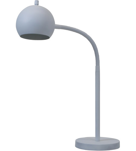 House of Troy ORB150-WT Orbit 22 inch 18 watt White Table Lamp Portable Light photo