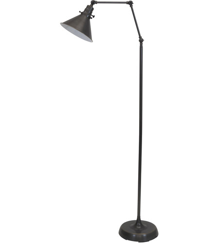 House of Troy OT600-OB-MS Otis 49 inch 60 watt Oil Rubbed Bronze Floor Lamp Portable Light photo