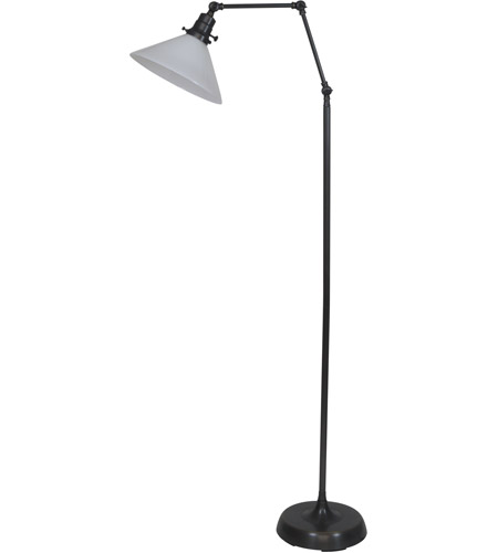House of Troy OT600-OB-WT Otis 49 inch 60 watt Oil Rubbed Bronze Floor Lamp Portable Light photo