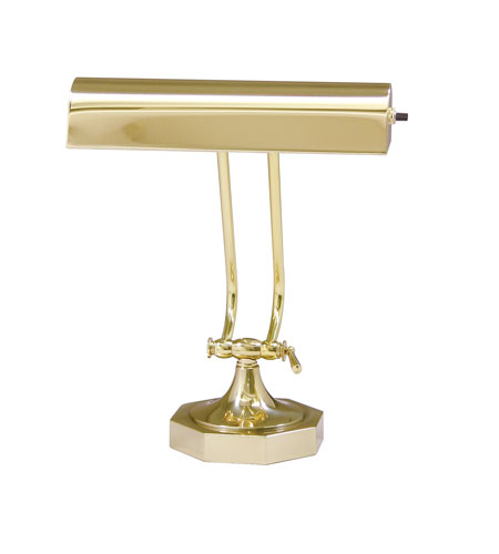 House of Troy Piano or Desk 1 Light Desk Lamp in Polished Brass P10-107-61 photo