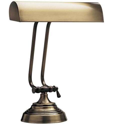 House Of Troy P10 131 71 Piano Desk 11 Inch 40 Watt Antique Brass Piano Desk Lamp Portable Light In 10 5 Round