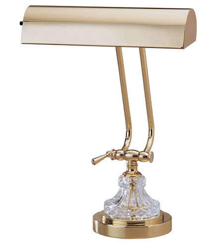 House of Troy Piano/Desk Lamp Polished Brass Table Lamps P10-163 photo