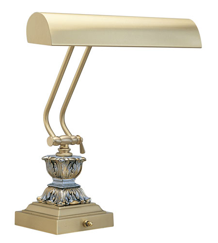 House of Troy Piano/Desk Lamp Satin Brass Table Lamps P14-262 photo