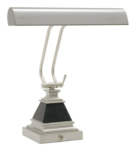 House of Troy Piano or Desk 2 Light Desk Lamp in Satin Nickel P14-502-52 photo