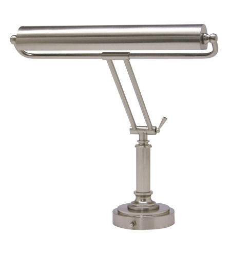 House of Troy Piano and Desk 2 Light Piano Lamp in Satin Nickel P15-80-52 photo