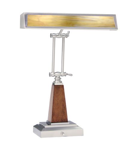 House of Troy Piano/Desk Lamp Satin Nickel Desk Lamps PC14-503-52 photo