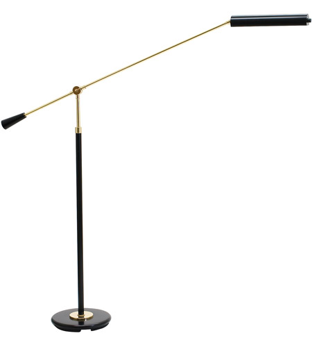 House of Troy PFLED-617 Grand Piano 26 inch 4.2 watt Black & Brass Piano Lamp Portable Light in Black and Brass photo