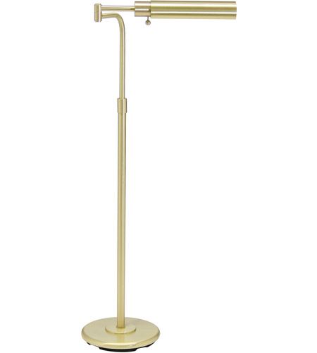 House of Troy PH100-51-F Home/Office 34 inch 60 watt Satin Brass Floor Lamp Portable Light photo