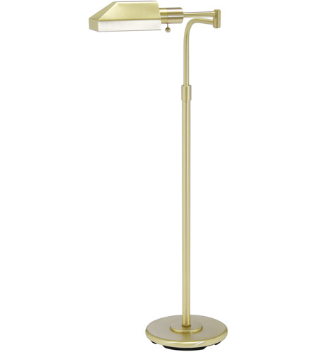 House of Troy PH100-51-J Home/Office 34 inch 100 watt Satin Brass Floor Lamp Portable Light in 8.25 x 3.75 photo
