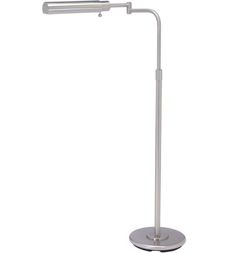 House of troy homeoffice 1 light floor lamp in satin nickel ph100 52 f house of troy ph100 52 f homeoffice 34 inch 60 watt satin mozeypictures Image collections