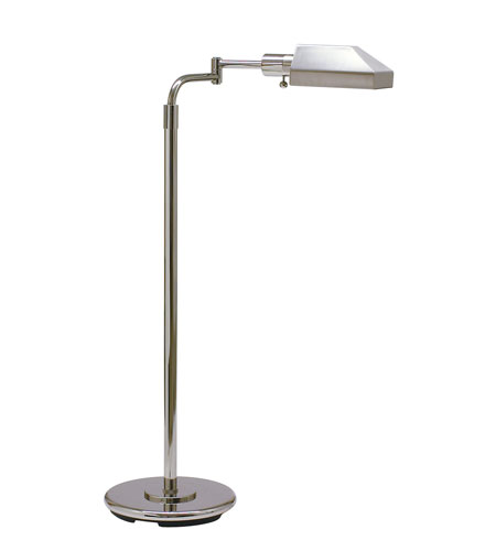 House of Troy Home and Office 1 Light Floor Lamp in Chrome PH100-62-J photo