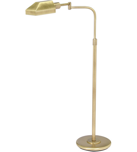House of Troy PH100-71-J Home/Office 34 inch 100 watt Antique Brass Floor Lamp Portable Light in 8.25 x 3.75 photo