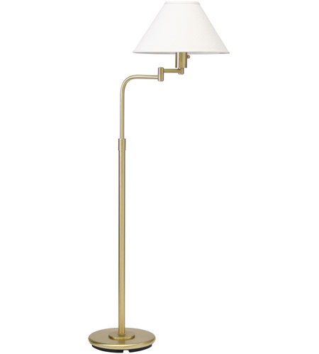 House of Troy PH101-51 Home/Office 37 inch 100 watt Satin Brass Floor Lamp Portable Light photo