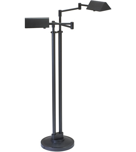 House of Troy PIN400-2-OB Pinnacle 36 inch 50 watt Oil Rubbed Bronze Floor Lamp Portable Light in 2 photo