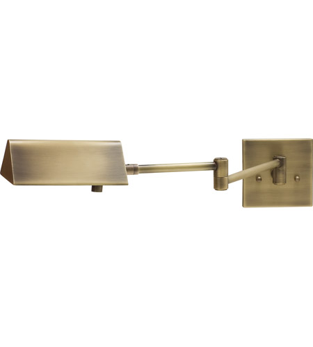 House of Troy PIN475-AB Pinnacle 24 inch 50 watt Antique Brass Wall Swing Arm Wall Light photo