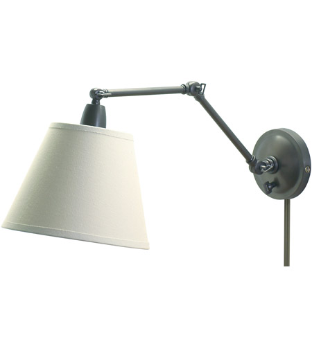 House of Troy PL20-OB Library 17 inch 100 watt Oil Rubbed Bronze Library Wall Lamp Wall Light photo