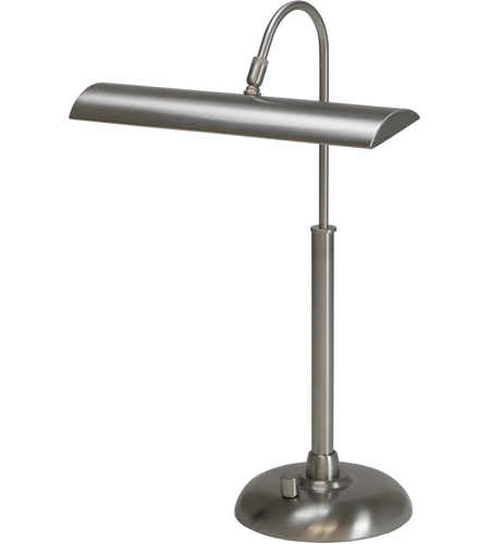 House of Troy PZLEDZ100-52 Zenith 14 inch 4.5 watt Satin Nickel Piano/Desk Lamp Portable Light photo