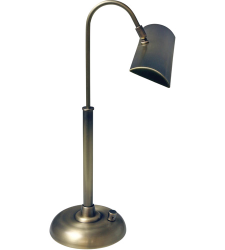 House of Troy PZLEDZ100-7 Zenith 14 inch 4.5 watt Black Piano/Desk Lamp Portable Light photo