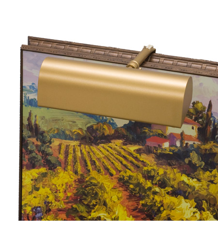 House Of Troy Classic Traditional 1 Light Battery Powered Picture Light in Gold  RT8-1 photo