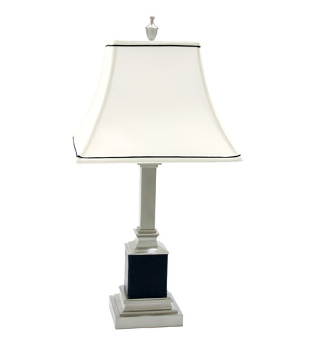 House of Troy Shelburne Satin Nickel Table Lamps S330-52 photo