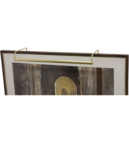 House of Troy Slim-line 6 Light Picture Light in Polished Brass SL30-61 photo