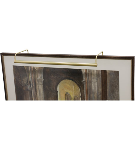 House of Troy Slim-line 8 Light Picture Light in Satin Brass SL40-51 photo
