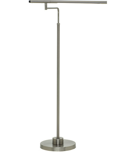 House of Troy SLED500-SN Slim-line 38 inch 5 watt Satin Nickel Floor Lamp Portable Light photo
